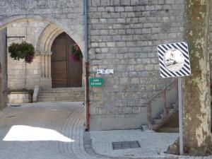 Miroir Place du Bruilhois