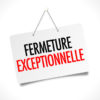 Fermetures : Mairie et Agence Postale