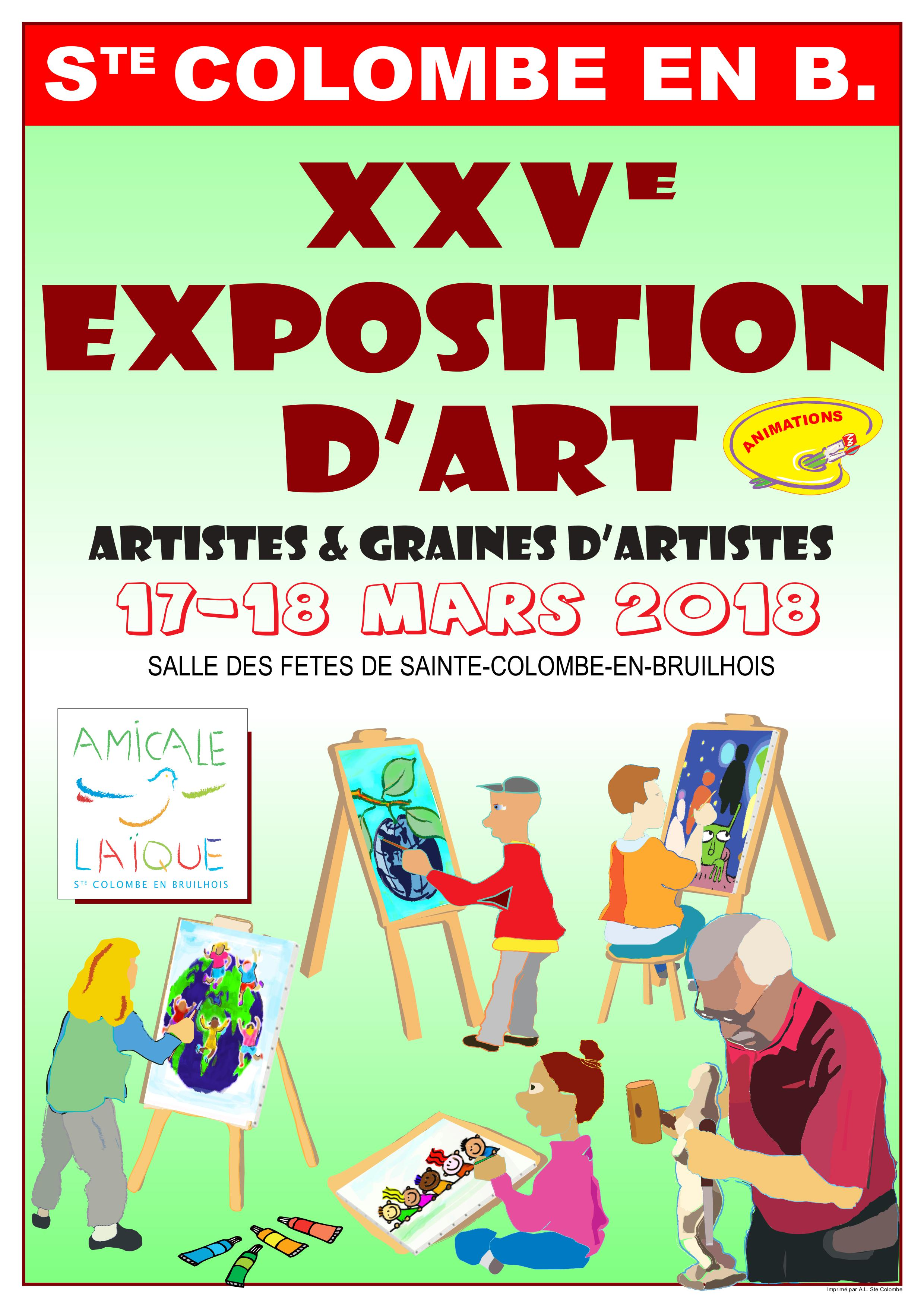 affiche amicale expo